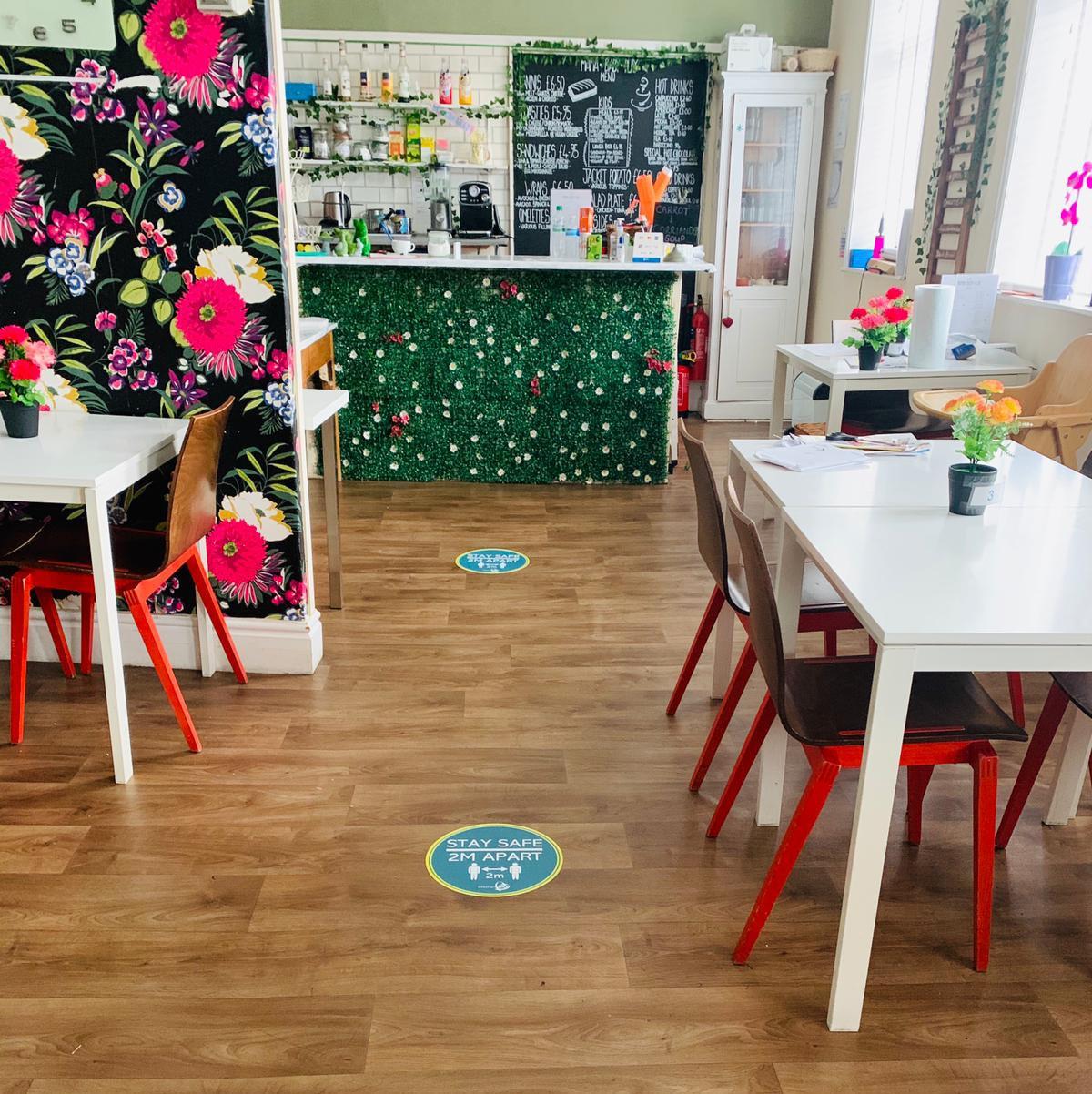 Café, play and sensory room