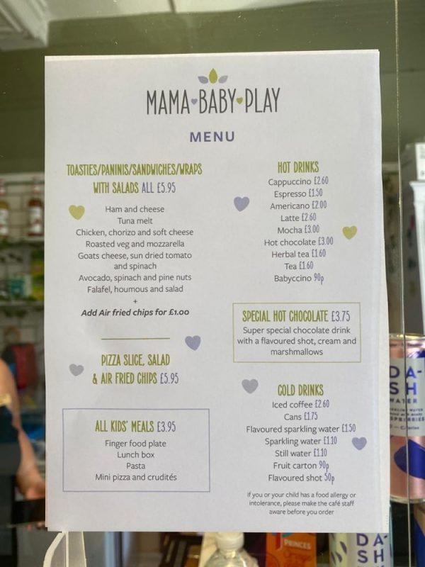 Café at Mama Baby Play