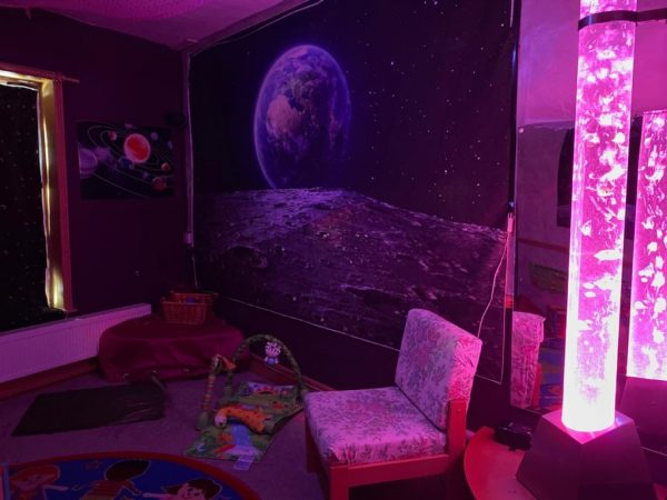 Sensory room at Mama Baby Play